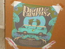 Dead And Company 2016 Summer Tour Poster Justin Helton SN / AE 195/5000