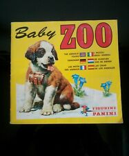 Album Panini BABY ZOO 1975 Complet 100% Collection à Saisir Rare