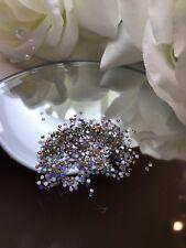 100 Swarovski AB Holographic Crystals. Nail Art Decor. Amaizing shine!!!!