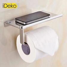 Papier Toilette Porte-papier support de téléphone Inox Mural