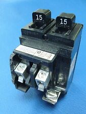 15A ITE Pushmatic P1515 Twin Duplex BREAKER 15 Amp With CLT Tab Chipped $ave