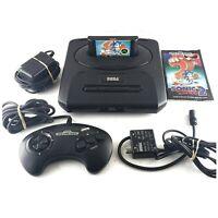 Sega Genesis Model 2 MK-1631 COMPLETE BUNDLE with Sonic the Hedgehog 2