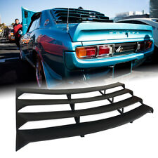 Fit Toyota Celica 1970-1977,TA23 TA22 MK1 Rear Window Louvre Sunshade Black