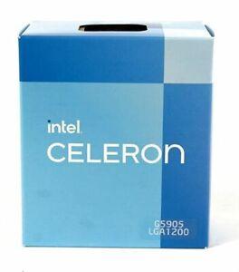 Intel Celeron G5905 2x 3,5GHz 4MB CACHE 8 GT/s SOCKEL 1200 BOX NEU 4k OVP