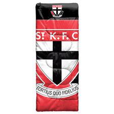 St Kilda Saints AFL Kids Junior Sleeping Bag Camping Christmas Gift 180cm x 70cm