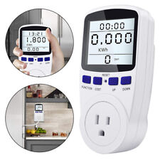 Power Saving Energy Monitor Meter Watt Volt Kwh Electricity Analyzer 6mod Us Plu