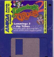 Amiga formato-Revista coverdisk 42-lemmings 2 Demo < Mq >