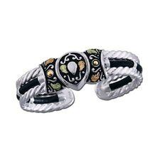 Landstroms® Black Hills Gold on Silver Western Cuff Bracelet