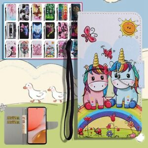 Phone Cover for Samsung Galaxy A12 A32 A52 A72 A41 A21S PU Leather Wallet Case