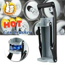 16oz Can Crusher Recycling Tool Wall Mounted Beer Tin Bottle Opener Tools 500ml