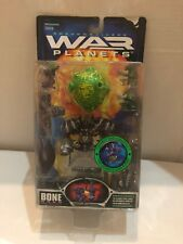 HEROIC PLANET BONE- WAR PLANETS- BATTLE FORTRESS- TRENDMASTERS 1997- NEW- MINT