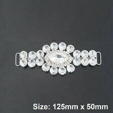 Rhinestone Applique Motif Diamante Crystals Sew Bridal Dress Belts Decoration 96