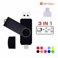 CHIAVETTA USB PENDRIVE CON 3 CONNETTORI OTG 32 GB E 64 GB