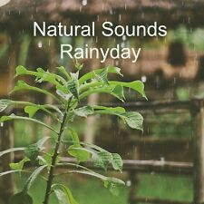 NATURAL SOUNDS RAINYDAY CD STRESS RELIEF HEALING RELAXATION DEEP SLEEP NATURE