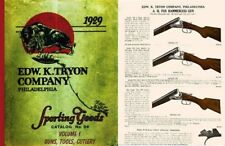Edw K. Tryon Company Sporting Goods 1929 Volume # 1 of Catalog no. 94 Guns, Tool