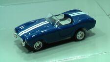 Slot H0 JL AC COBRA blau+Str. für FALLER AMS AURORA T-Jet TOMY TYCO AW  NEU OVP