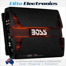 BOSS AUDIO PD4000 CLASS-D MONO BLOCK 1-CHANNEL 4000W AMPLIFIER AMP MONOBLOCK