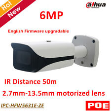 Dahua POE 6MP WDR IR Bullet Network IP Camera 2.7mm-13.5mm motorized lens IR