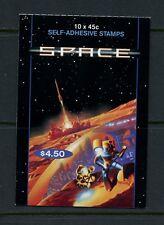 Q144 Australia 2000 space booklet Mnh