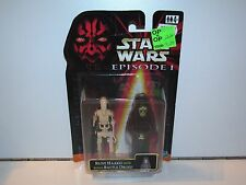 STAR WARS 1999 EPISODE I RUNE HAAKO w/ BONUS BATTLE DROID MOSC HASBRO