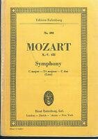 Taschenpartitur Mozart : Symphony C-Dur K.-V. 425