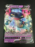 Dragapult V ULTRA RARE 092/192 Pokemon SWSH Rebel Clash Holo NM 2020