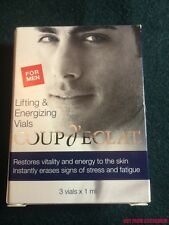 New COUP d'ECLAT Lifting Ampoules For Men Lifting & Energizing ~ Made in Monaco