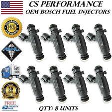 OEM Bosch Fuel Injectors Set (8) 0280156180 Rebuilt by Master ASE Mechanic USA