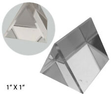 Optical Glass Triangular Prism, 1-Inch (Pack of: 1) - Pp-17739