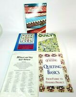 Quilting Books 5 Piece Mixed Lot Patterns Vintage Bold Baltimore & More