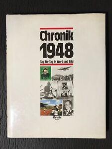 Chronik 1948 Tag für Tag in Wort und Bild