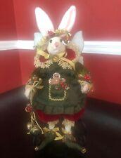 Mark Roberts Christmas Rabbit Fairy 51-56622 Mint Condition