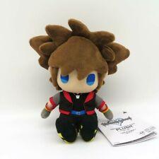 "Kingdom Hearts III KH3 Sora Plush Toy 7.2"" Tall Official SQUARE ENIX"