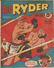 Australian Western Comic: Red Ryder #138 Tip Top Comics 1952