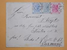Hong Kong 1899 Cover QV Stamps 2c 4c & 5c U To Germany