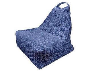 Bean Bag Chair, Minimalist Japanese Style Print Design 7, Full Print, Made in EU