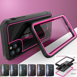 Clear Case For iPhone 13 Pro Max 12 11 XR XS 876 Plus Shockproof Defender Cover