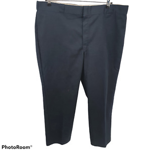 Dickies 874 Original Fit Straight Leg Work Pants Blue Mens Size 44x30