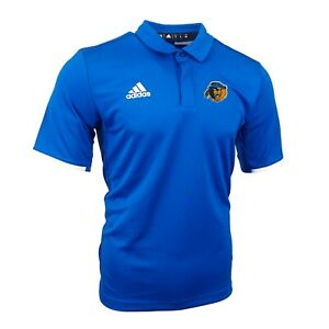 UC Riverside Highlanders NCAA Adidas Men's Blue Team Iconic Climalite Polo Shirt