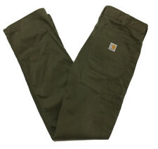 VINTAGE CARHARTT RELAXED FIT TROUSERS CARGO PANTS UTILITY WORKWEAR JEANS W32 L34