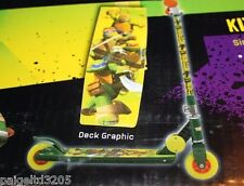 Nickelodeon Teenage Mutant Ninja Turtles Kids' Folding Scooter