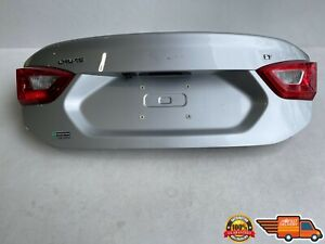 2016-2017 CHEVROLET CRUZE TRUNK LID WITH CAMERA GRAY OEM 16-17