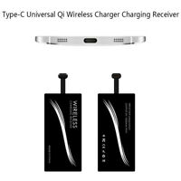 Type-C universal Qi wireless charger charging receiver for phones-KT