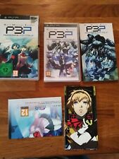 SHIN MEGAMI TENSEI PERSONA 3 PORTABLE COLLECTORS EDITION. SONY PSP GAME. UK PAL
