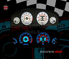 Rover 400 petrol speedo interior dash panel bulb lighting upgrade
