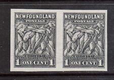 Newfoundland #184c XF Mint Imperf Pair