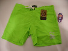 SCORPION BAY BOARDSHORT PANTALONCINO MARE COSTUME MBS2751 83 GREEN FLUO TG 36