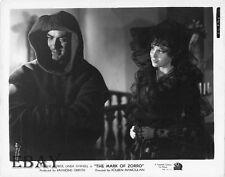 Tyrone Power Linda Darnell VINTAGE Photo Mark Of Zorro
