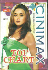 CINIMAX TOP CHART- BOLLYWOOD TOP SELECTION OF 54 SONGS DVD - FREE UK POST