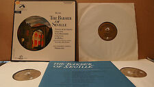 HMV SAN 114/6 W/GOLD ED.1 ROSSINI - THE BARBER OF SEVILLE DE LOS ANGELES GUI AUS